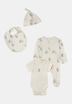 Marks & Spencer London - BABY SET UNISEX - T-shirt imprimé - ivory
