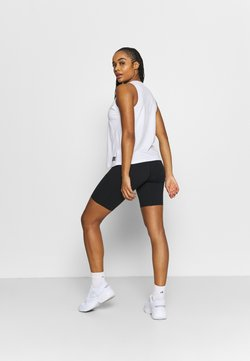 Under Armour - MERIDIAN BIKE SHORTS - Tights - black