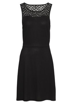 ONLY - ONLNEW NICOLE LIFE DRESS - Trikoomekko - black
