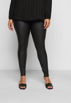 Pieces Curve - PCNEW SHINY - Leggings - Hosen - black