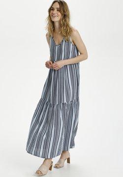 Kaffe - BPSUSANA - Maxikleid - blue/midnight stripe