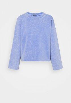GAP Petite - FLARE CROP - Sweatshirt - neon medium blue