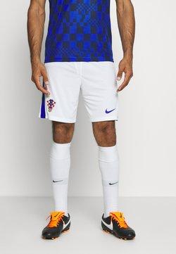 Nike Performance - KROATIEN CRO SHORT - Pantalón corto de deporte - white/bright blue