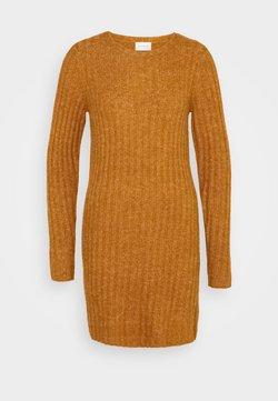 Vila - VINIKKI O-NECK DRESS - Jumper dress - pumpkin spice/melange