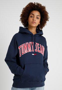 Tommy Jeans - CLASSICS LOGO HOODIE - Sweat à capuche - navy