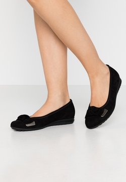 Gabor Comfort - Klassischer  Ballerina - schwarz