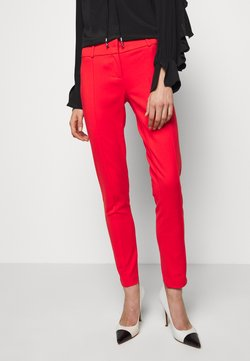 Patrizia Pepe - LOW FIT PANT - Stoffhose - glam lips