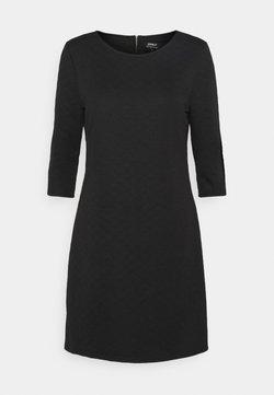 ONLY - ONLJOYCE 3/4 DRESS  - Vestido ligero - black