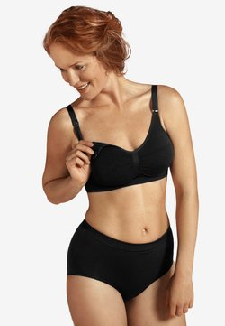 Carriwell - ORIGINAL MATERNITY & NURSING BRA  - Sujetador balconette - black