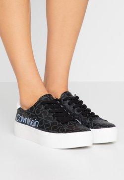 Calvin Klein - JANIKA - Sneakers laag - black
