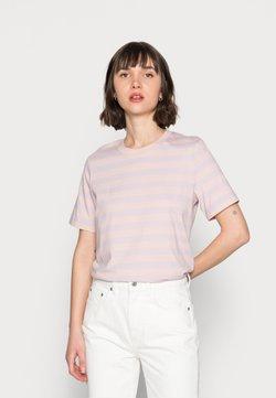 ARKET - T-Shirt print - pink/purple