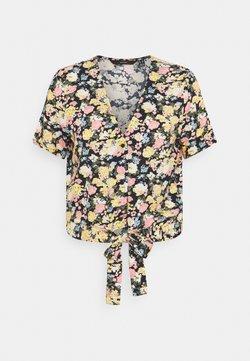 Vero Moda Tall - VMSIMPLY EASY TIE - Bluse - navy blazer