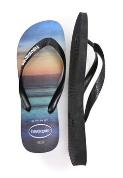 Havaianas - HYPE  - Tongs - black