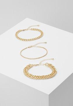 Pieces - PCCHAIN BRACELET 3 PACK - Bracelet - gold-coloured