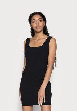 Miss Selfridge Petite - CORSET DETAIL MINI DRESS - Vestido de tubo - black