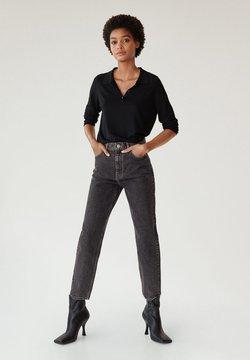 Mango - Straight leg jeans - denim grey