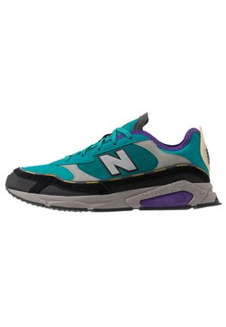New Balance - X-RACER - Sneakers basse - green/black