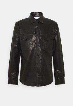 Iro - WRIGHT - Leather jacket - black