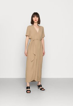 Selected Femme - SLFREBEKKA-DYNELLA DRESS - Maxikleid - kelp