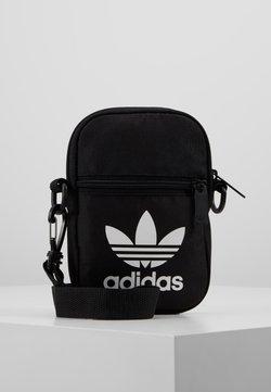 adidas Originals - FEST BAG TREF UNISEX - Axelremsväska - black