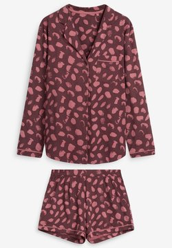 Next - THROUGH SET - Pyjama - berry