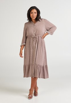 Zizzi - Blusenkleid - dusty rose