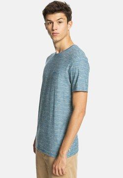 Quiksilver - T-Shirt print - kentin captain blue