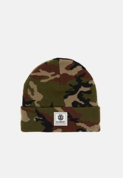 Element - DUSK BEANIE BOY - Mütze - dark green/brown