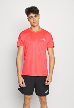 adidas Performance - RESPONSE RUNNING SHORT SLEEVE TEE - Camiseta estampada - pink