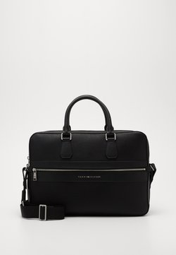 Tommy Hilfiger - MODERN WORK BAG - Aktentasche - black