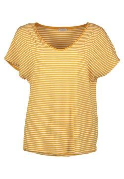 Re.draft - T-Shirt print - stripe sunflower