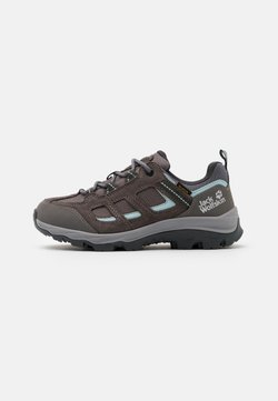 Jack Wolfskin - VOJO 3 TEXAPORE LOW  - Outdoorschoenen - tarmac grey/light blue