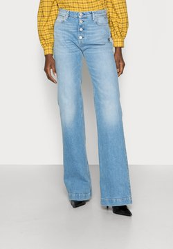 Replay - BEVELYN PANTS - Jeans a zampa - light blue
