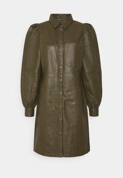 Minimum - JAYA  - Korte jurk - dark olive