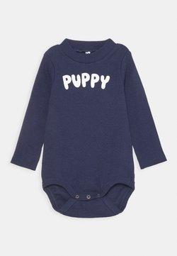 Mini Rodini - BABY PUPPY UNISEX - Body - navy