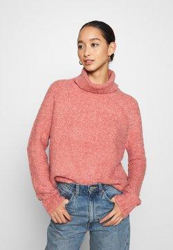 ONLY - ONLOLIVIA LOOSE ROLLNECK  - Jersey de punto - blush