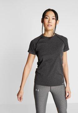 Hummel - CI SEAMLESS - T-Shirt print - dark grey melange