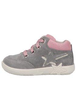 Superfit - Sneaker low - hellgrau rosa
