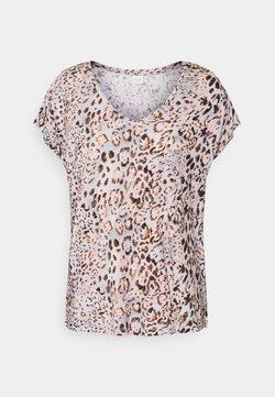 Cream - T-Shirt print - pink