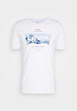 Levi's® - HOUSEMARK GRAPHIC TEE UNISEX - T-shirt imprimé - white