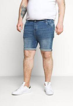 Brave Soul - Jeansshort - light blue wash