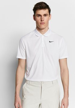 Nike Golf - DRY VICTORY SOLID - Funktionsshirt - white/black