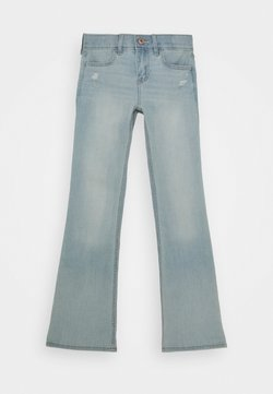 Abercrombie & Fitch - BASIC - Bootcut jeans - light
