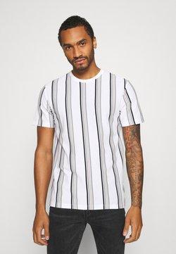 Topman - LUKE - T-shirt imprimé - white