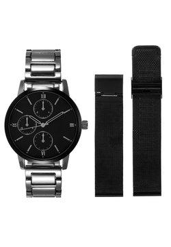 Pier One - SET - Horloge - silver-coloured