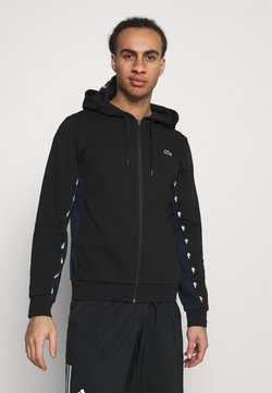 Lacoste Sport - TAPERED - Kapuzenpullover - black/navy blue