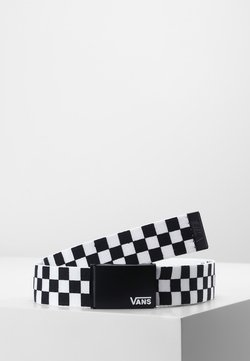 Vans - DEPPSTER BELT - Bælter - black/white