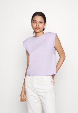 Noisy May - NMMINNA PADDED - Camiseta básica - pastel lilac
