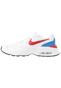 Nike Sportswear - AIR MAX FUSION UNISEX - Sneakers laag - white/gym red/pacific blue