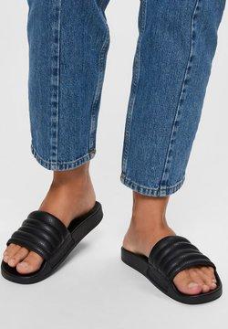 Selected Femme - Pantolette flach - black